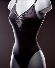 Ca Dechire Bodysuit Butterfly black face